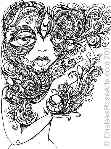 trippy coloring book for sale chelsea new pen and ink drawing danny s