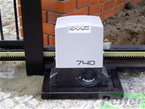 Faac Automatic Sliding Gate 741 Single Phase Max 900 Kg faac 740 delta 2 kit for sliding gates with max weight of 500 kg