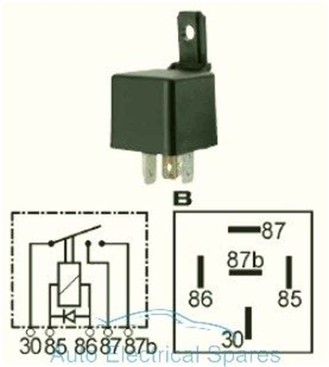 12v diode 20a 160934 contact relay 12v 2 x 20a with diode