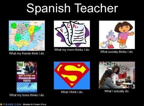 Teacher Meme Generator - spanish teacher meme generator what i do spanish