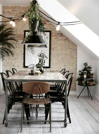 ideas  decorar  mesas de comedor de madera  forja