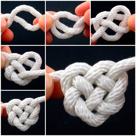 Tying Celtic Knots - how to tie celtic knot