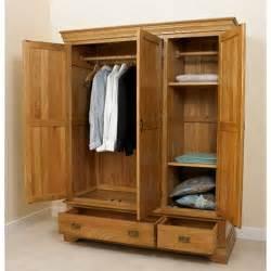 Wooden Wardrobe Sheesham Wood Wardrobe Majestic Rightwood Wooden Furniture