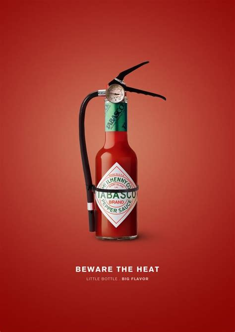 design graphics advertising 20 creative tabasco ads that will bring the heat