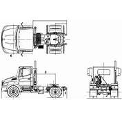 CAR Blueprints  2009 Hino 338CT Truck Blueprint