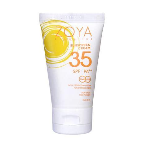 Pelembab Zoya jual zoya sunscreen spf 35 pa harga