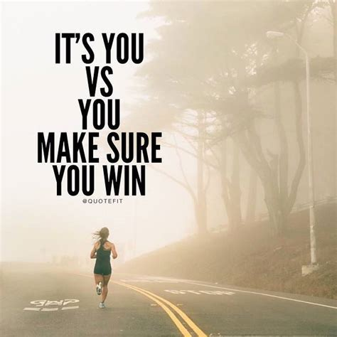 it s you it s you vs you