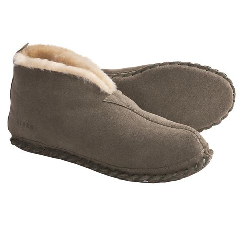 slipper booties for acorn sheep bootie slippers sheepskin for save 62