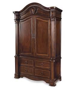 Claret Bedroom Set A R T Furniture Bedroom Armoire Claret At Hayneedle