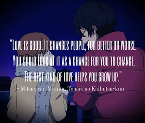 anime quotes about love anime love quotes quotesgram