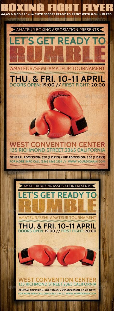 boxing poster template free 34 best boxing posters images on boxing