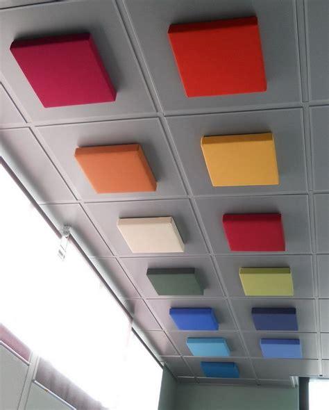 pannelli fonoassorbenti per soffitti oltre 25 fantastiche idee su pannelli controsoffitto