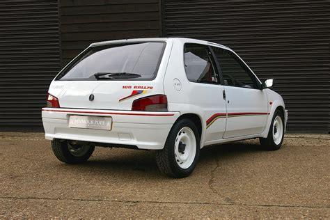 used peugeot 106 used peugeot 106 1 3 rallye s1 3 door 5 speed manaul