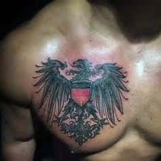 polish flag tattoo designs flag with eagle arm designs