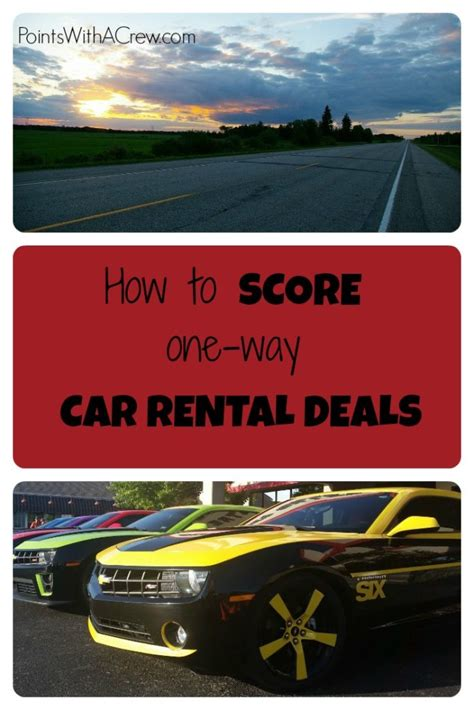 cheapest way to get a car list of cheap one way car rental discount codes points