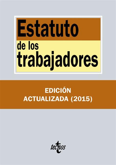 estatuto 2016pdf scribd estatuto trabajadores actualizado 2016
