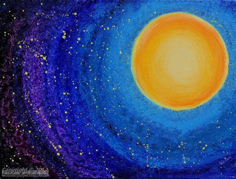 acrylic paint sun original acrylic painting modern from