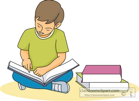 picture of reading a book reading student reading book 227 03 classroom clipart