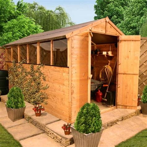 Garden Sheds Direct How To Improve The Structure Of Wooden Garden Sheds