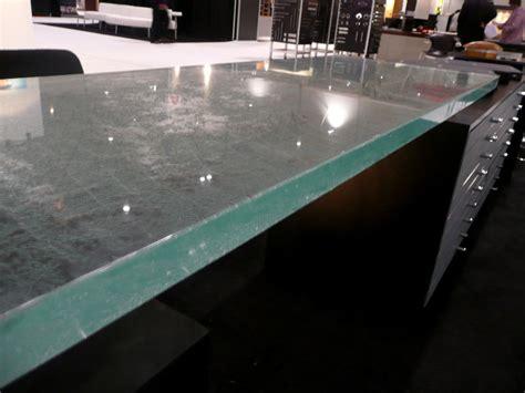 Clear Countertop by Glass Desk Countertop Frt34 Cbd Glass