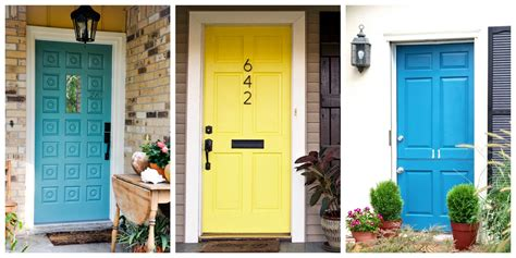 front door makeover 8 front door makeover ideas how to makeover your home