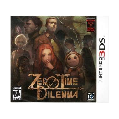 Nintendo 3ds Zero Time Dilemma jual nintendo 3ds zero time dilemma dvd