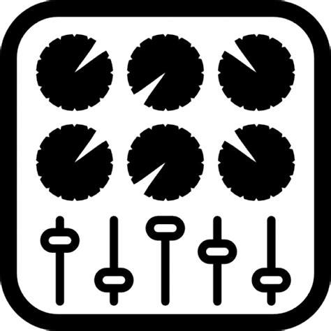 console musicale console de commande de la musique t 233 l 233 charger icons