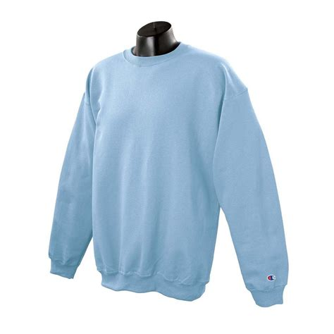 light blue hoodie mens chion men s light blue crewneck sweatshirt