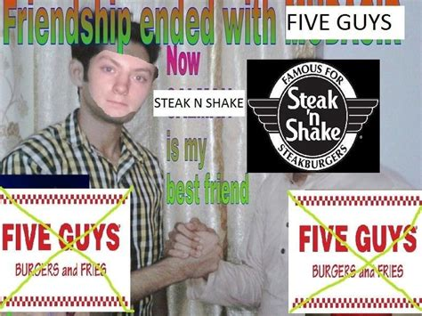 Schfifty Five Know Your Meme - friendship ended with five guys friendship ended with