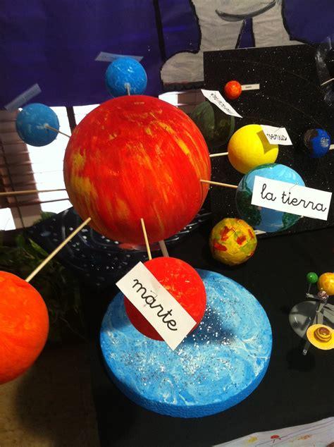 como ago una exppcicion del sisyema solar 187 exposici 243 n de maquetas del sistema solar