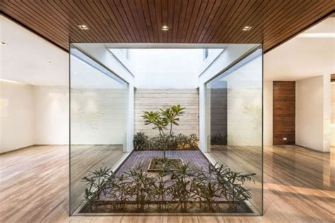 interior garden house indian modern house interior garden