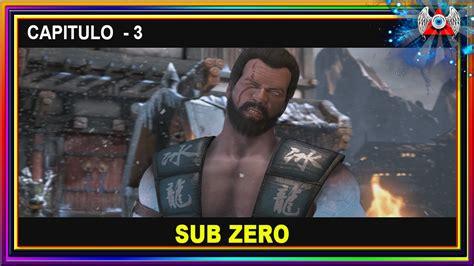 Lemari Es Sub Zero mortal kombat x modo historia capitulo 3 sub zero