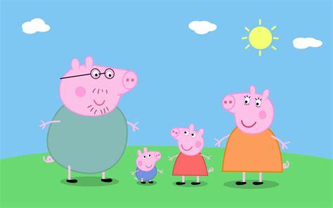 cartoon characters peppa pig