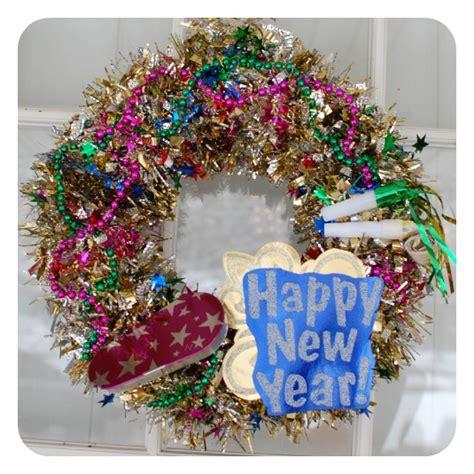 new year wreath new year s wreath