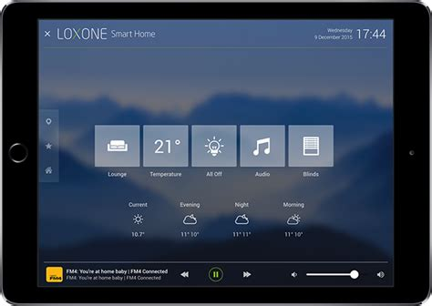 loxone s home automation app for iphone and android