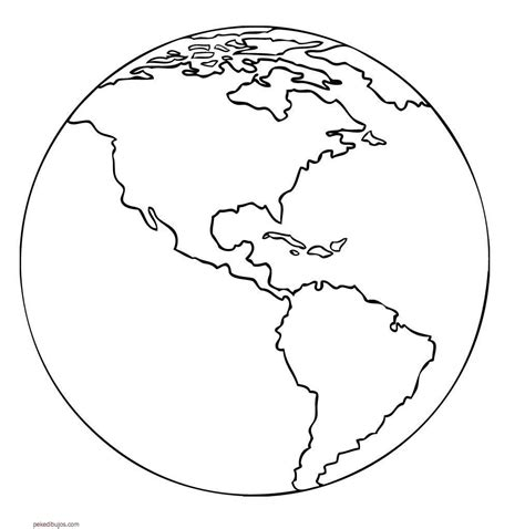 coloring page earth globe 10 black and white earth template images printable earth
