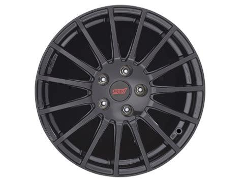 subaru crosstrek wheels subaru xv crosstrek wheel 17 quot sti part no b3110fj030