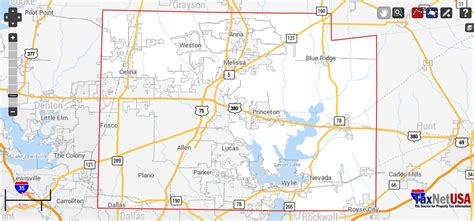 Collin County Real Property Records Collin County Property Search And Interactive Gis Map
