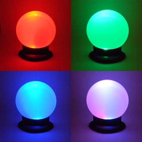Licht Leuchten by Led Leuchte Quot Lichtzauber Quot Autom Farbwechsel Wei 223 Licht