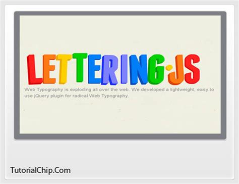 lettering js tutorial 25 essential css3 tutorials and techniques designers