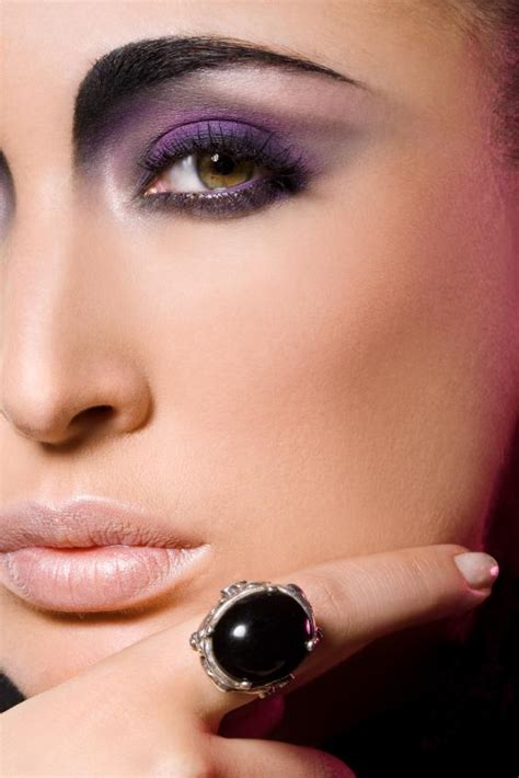 high fashion makeup technique  slideshow