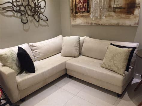 sofas em l sofa em l r 1 300 00 em mercado livre