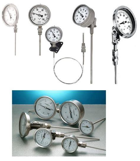Bimetal Termometer Capillary temperature thermometer bimetal capillary