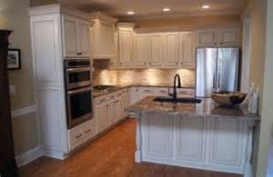 Kitchen Cabinet Decorative Panels From Builder Grade Wood Cabinets To A White Finish