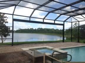 Roll Up Patio Screen Patio Screen Enclosures Florida Swimming Pool Enclosures