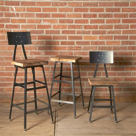 Reclaimed Wood Bar Stool Buy A Custom Reclaimed Wood Bar Stool Made To Order From Wood Goods Custommade