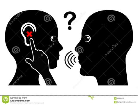 hearing impaired patients require special consideration during a