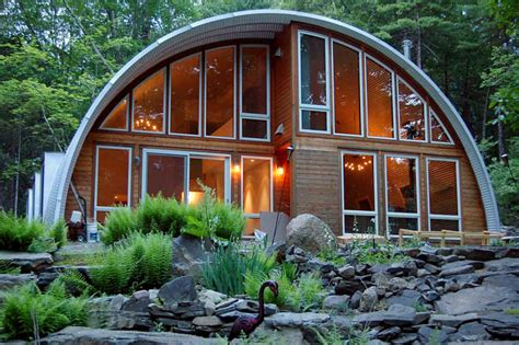 Modern Barn House Floor Plans by These Quonset Inexpensive Kit Homes Start At Less Than 8 000