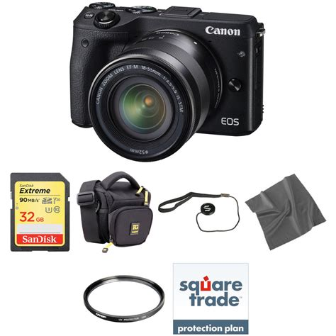 Canon Eos M3 canon eos m3 mirrorless digital with 18 55mm lens