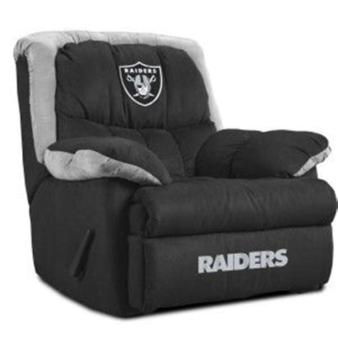 raiders recliner oakland raiders home recliner this would be perfect in my